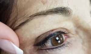 Maquillage permanent eyeliner haut et bas en institut vers Marseille