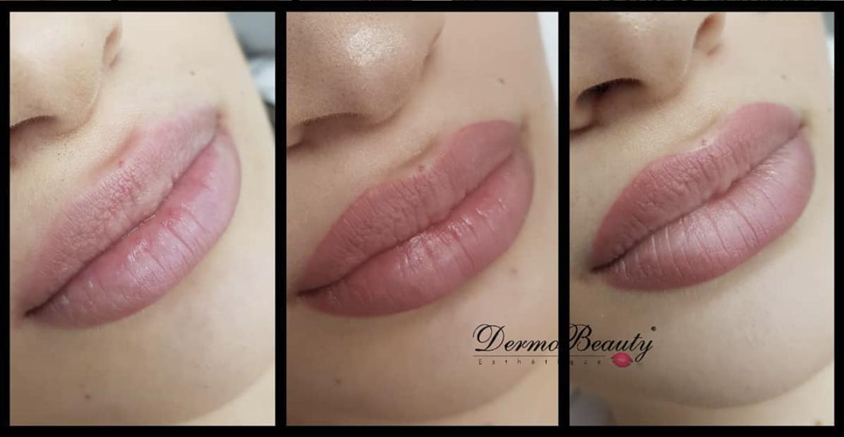 Maquillage permanent lèvres et voilage en institut de beauté dans les Bouches du Rhône