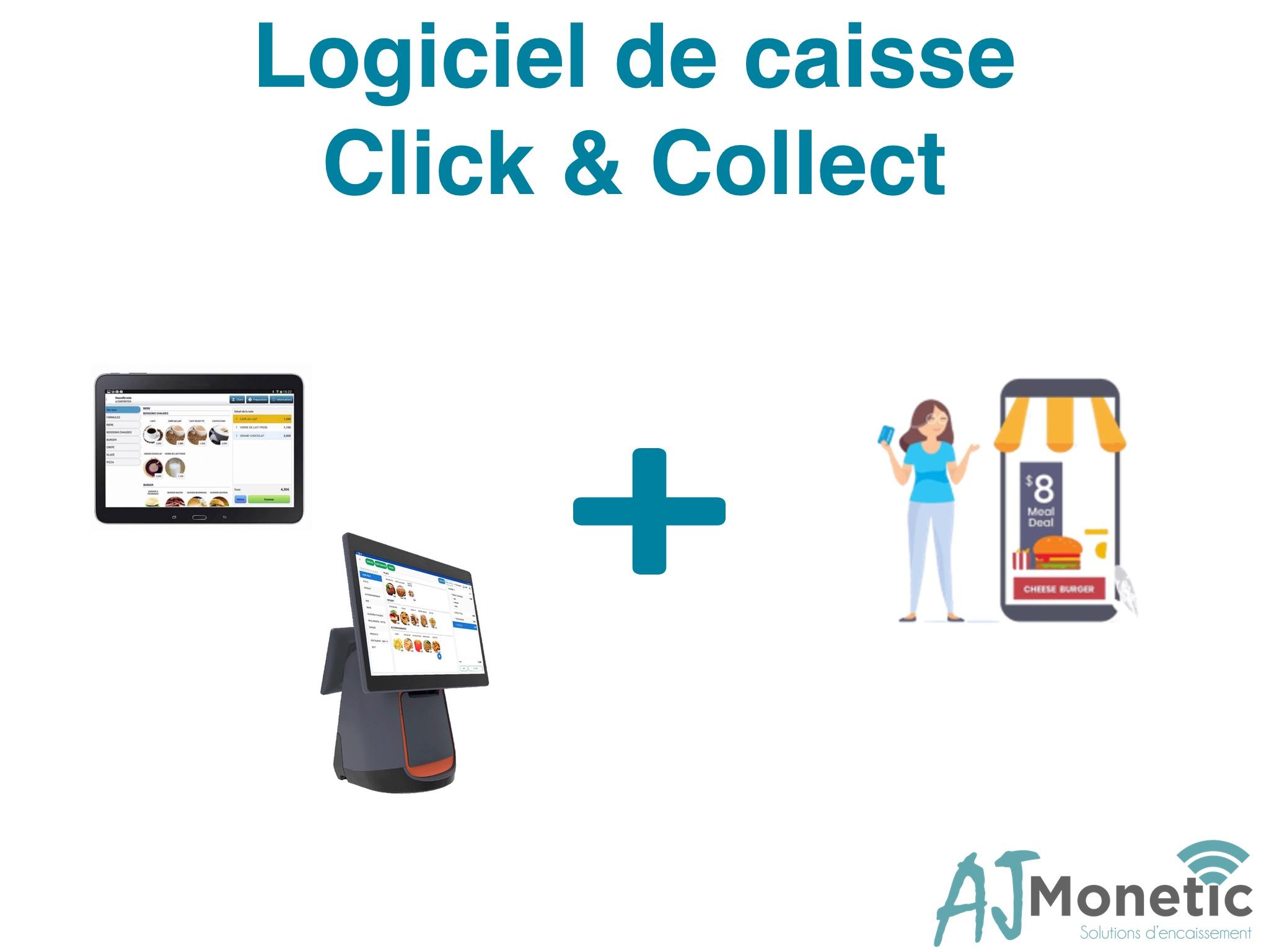 AJ MONETIC 13 - caisse click & collect