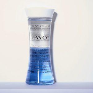 Démaquillant instantané yeux waterproof Payot disponible chez Dermobeauty Esthétique